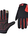 Cyklistické rukavice Lyžařské rukavice Rukavice na horská kola Horská cyklistika Zahřívací Dotyková obrazovka Větruvzdorné Prodyšné Celý prst Rukavice touchscreen Akvitita a sport Lycra Terry Cloth