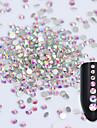 Nail Smycken Nail Art Design Mode / 3D Dagligen