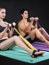 Motståndsband / träningsrör Gummi Justerbar Styrketräning Sjukgymnastik Motståndsträning Yoga Motion & Fitness Gym träning För