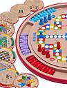 Schackspel Familj Kompakt design Föräldra-Barninteraktion Trä Barn Pojkar Flickor Leksaker Present