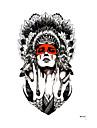 1 pcs Tattoo Sticker tillfälliga tatueringar Som bilden Body art arm / skuldra