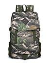 35 L Ryggsäckar ryggsäck Militär taktisk ryggsäck Bekväm Hög kapacitet Utomhus Camping Utomhusträning Nylon Grå Kamoflage Khaki grön