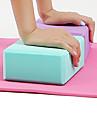 Yogablock 1 pcs Hög densitet Fuktsäker Lättvikt Luktresistent EVA Stödjer och fördjupar yogaposer Tränar balans och flexibilitet För Pilates Fitness Gym träning Purpur Blå Rosa