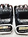 Boxningssäckhandskar För Boxing Skyddande PU läder Svart Röd Blå