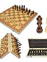 Schackspel Familj Magnet Föräldra-Barninteraktion Trä Pojkar Flickor Leksaker Present 32 pcs