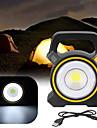 Strålkastare Bärbar lampa LED Solbelysning Nödbelysning för Plast Utomhus Camping Gul Mörkgrå