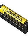 Nitecore F1 Batteriladdare för Li-jon Säkrad krets Skydd mot omvänd polaritet Kortslutningsskydd Överladdningsskydd 10440,14500,16340,17335,17500,17670,18490,18650,26650, RCR123 Camping / Fiske