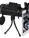 PANDA 10 X 40 mm Monokulär Objektiv Nattvision i lågt ljus Objektiv med stativ Lätt att bära BAK4 Camping Jakt Fiske Kompositmaterial / Fågelskådning