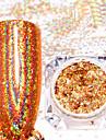 2pcs 2 Glitterpulver Glitter / Nail Glitter Nail Art Design / Nail Art Tips