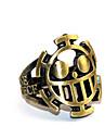 Mer accessoarer Inspirerad av One Piece Trafalgar Law Animé Cosplay-tillbehör Ring Krom Halloween kostymer
