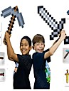 Minecraft Toys Sword Pick Axe Anime och manga Enkel PEVA 1 pcs Pojkar Flickor Leksaker Present