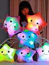 Luminous pillow Led Light Pillow Start Shape Romantik Gosedjur Vackert Bekväm Flickor Leksaker Present