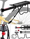 Bike Cargo Rack Max Belastning 50 kg Justerbara Quick Release Enkel att sätta på Aluminum Alloy Mountain Bike Vägcykling - Svart