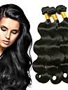 3 paket Mongoliskt hår Kroppsvågor Äkta hår Human Hår vävar bunt hår Hårförlängningar av äkta hår 8-28 tum Naurlig färg Hårförlängning av äkta hår Förlängning Bästa kvalitet Ny ankomst Människohår