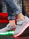 Pojkar / Flickor Lysande skor Stickad Sneakers Småbarn (9m-4ys) / Lilla barn (4-7år) / Stora barn (7 år +) Promenad LED Svart / Blå / Rosa Vår / Höst / Gummi