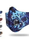 XINTOWN Sport Mask Skyddsmask mot Förorening Half Face Mask med Filter Neopren Justerbara Vindtät Andningsfunktion Ventilerande Damm säker Cykel / Cykelsport Grå Orange Röd Elastan Aktiverad kol