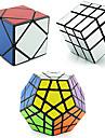 3 PCS Magic Cube IQ-kub Shengshou Pyraminx Alien Megaminx 3*3*3 Mjuk hastighetskub Magiska kuber Stresslindrande leksaker Utbildningsleksak Pusselkub Hastighet Professionell Klassisk & Tidlös Barn