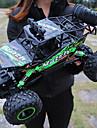 Radiostyrd bil Titanfoot Monster Truck Rock Crawlers 4WD 4 Kanaler 2.4G SUV (Längdåkning) / Bergsklättring Bil / Driftbil 1:12 Borstlös elektrisk 12 km/h Vattentät / Ficklampa / Stötsäker