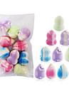10 pcs professionell nivå Bärbar drop Shape kurbits form Emulsion Makeup Set Puderpuff Makeupsvampar Skönhet Sminkredskap Kosmetika Personlig omvårdnad Till Kosmetisk Ansikte Bärbar Dagligen Träning