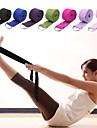Yoga Strap Textil Stretch Hållbar Justerbart D-ringspänne Sjukgymnastik Stretching För större flexibilitet Yoga Pilates Motion & Fitness För Unisex
