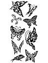 1 pcs tillfälliga tatueringar Vattentät Kropp / brachium / skuldra Tatueringsklistermärken