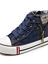 Pojkar / Flickor Komfort Kanvas Sneakers Lilla barn (4-7år) / Stora barn (7 år +) Mörkblå / Mörkröd / Ljusblå Vår / Höst