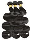 3 paket Brasilianskt hår Vågigt Äkta hår Hårförlängningar av äkta hår 8-28 tum Naurlig färg Hårförlängning av äkta hår Förlängning Heta Försäljning Människohår förlängningar / 8A