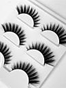 Ögonfrans Lösögonfransar 6 pcs Professionell Volym Naturlig Lockigt Fiber Dagligen Datum Hela ögonfransar Tjock - Smink Vardagsmakeup Professionel Bärbar Kosmetisk Skötselprodukter