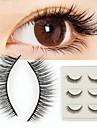 Ögonfrans Lösögonfransar 6 pcs Professionell Volym Lockigt Fiber Dagligen Hela ögonfransar Naturligt långa - Smink Vardagsmakeup Professionel Bärbar Kosmetisk Skötselprodukter
