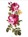5 pcs Tatueringsklistermärken tillfälliga tatueringar Blomserier Body art Ansikte / Kropp / händer