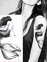 5 pcs Tatueringsklistermärken tillfälliga tatueringar Tecknad serie Body art handled