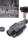 5 X 40 mm Night Vision Monocular Infrared Rechargeable Recording Image and Video Function Portable Night Vision Fully Multi-coated BAK4 Hunting Climbing Military / Tactical / Bird watching