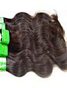 6 paket Indiskt hår Kroppsvågor Obehandlad hår Remy-hår Weave Naurlig färg Hårförlängning av äkta hår Heta Försäljning Till färgade kvinnor 100% Jungfru Människohår förlängningar / 10A