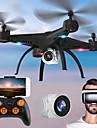 RC Drönare KY501W BNF 4 Kanaler 6 Axel 2.4G Med HD-kamera 2.0MP 720P Radiostyrd quadcopter FPV / Retur Med Enkel Knapptryckning / Huvudlös-läge Radiostyrd Quadcopter / Fjärrkontroll / Blad