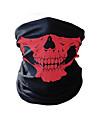 Sport Mask Skyddsmask mot Förorening Headsweat Dödskalle Solskyddskräm Håller värmen Cykel Fitness, Löpning & Yoga Cykel / Cykelsport Purpur Grön Röd Elastan för Herr Dam Vuxna Camping Utomhusträning