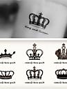 10 pcs Tatueringsklistermärken tillfälliga tatueringar Romantisk serie Body art arm