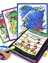 Leksaksritplattor Magic Water Drawing Book Kreativ Barns Present 1pcs