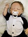 OtardDolls Reborn-dockor Babypojkar 18 tum Silikon - Nyfödd levande Miljövänlig Gåva Barnsäkert Ogiftig Unge Pojkar Leksaker Present / CE / Floppy Head / Tippade och förseglade naglar