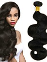 6 paket Peruanskt hår Vågigt Äkta hår Hårförlängningar av äkta hår Naurlig färg Hårförlängning av äkta hår Förlängning Heta Försäljning Människohår förlängningar / 8A
