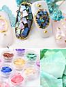 12st Utsmyckningar Till Ultra Slim / 12 färger nagel konst manikyr Pedikyr Naturligt inspirerad / Vintage-inspirerad Dagliga kläder