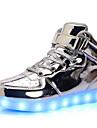 Pojkar / Flickor Lysande skor Lack Sneakers Småbarn (9m-4ys) / Lilla barn (4-7år) / Stora barn (7 år +) Snörning / LED Silver / Blå / Rosa Vår / Gummi