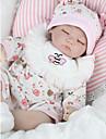 NPKCOLLECTION NPK DOLL Reborn-dockor Flicka Doll Babyflickor 18 tum Silikon - Nyfödd levande Miljövänlig Gåva Handgjord Barnsäkert Unge Flickor Leksaker Present / Ogiftig