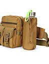 8 L Magväska Midjeväska Militär taktisk ryggsäck Multifunktionell Snabb tork Slitstyrka Utomhus Camping Nylon Khaki grön