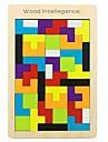 Träpussel Kreativ / geometriska mönster Trä 42 pcs Förskola Alla Present