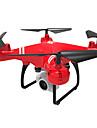 RC Drönare A806 BNF 4 Kanaler 6 Axel 2.4G 5.0MP 1080P Radiostyrd quadcopter Retur Med Enkel Knapptryckning / Huvudlös-läge / Air Press Altitude Hold Radiostyrd Quadcopter / Fjärrkontroll / 1 USB-kabel
