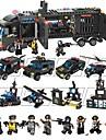 Byggklossar Byggsats Leksaker Utbildningsleksak 1095 pcs Fordon kompatibel Legoing Dekompressionsleksaker Föräldra-Barninteraktion Pojkar Flickor Leksaker Present