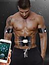 Magmuskelstimulator Bukhalsband EMS Abs Trainer APP Control Bluetooth Smart Uppladdningsbar Elekronisk Trådlös EMS-träning (elektrisk muskelstimulation) Muskeltoning Magtränare Fitness Gym träning För