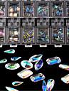 100 pcs Moderiktig design / Kreativ / Kristall / Strass Stenar Kristall / Strass Nagelsmycken Till nagel konst manikyr Pedikyr Dagliga kläder / Träning Stilig