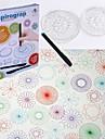 Teckningsleksak Spirograph Målning Kreativ Barns Pojkar Flickor Leksaker Present 25 pcs
