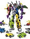 Byggklossar Byggsats Leksaker Utbildningsleksak 506 pcs Bilar Helikopter Robotar kompatibel Legoing omvandlings Pojkar Flickor Leksaker Present